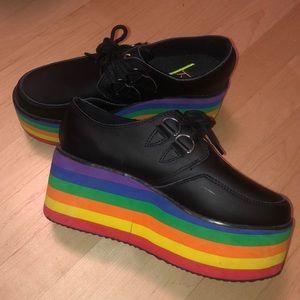 Rainbow Platform Creepers